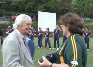 Nicki and Richie Benaud