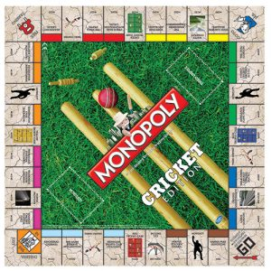Monopoly - Cricket Edition board