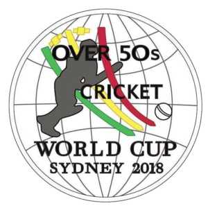 Over 50s Cricket World Cup logo