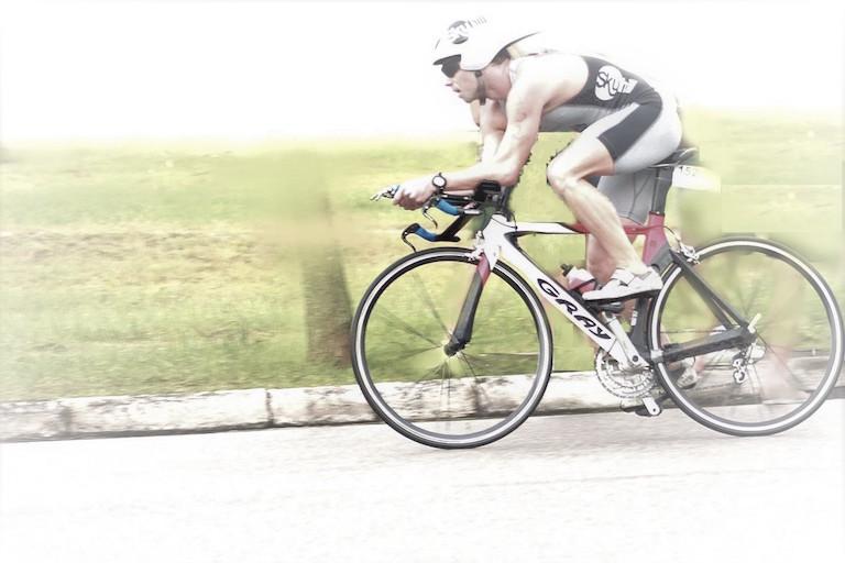 BikeFit assessor Hugo de Amorim on his racing bike