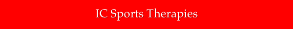 IC Sports Therapies newsletter logo